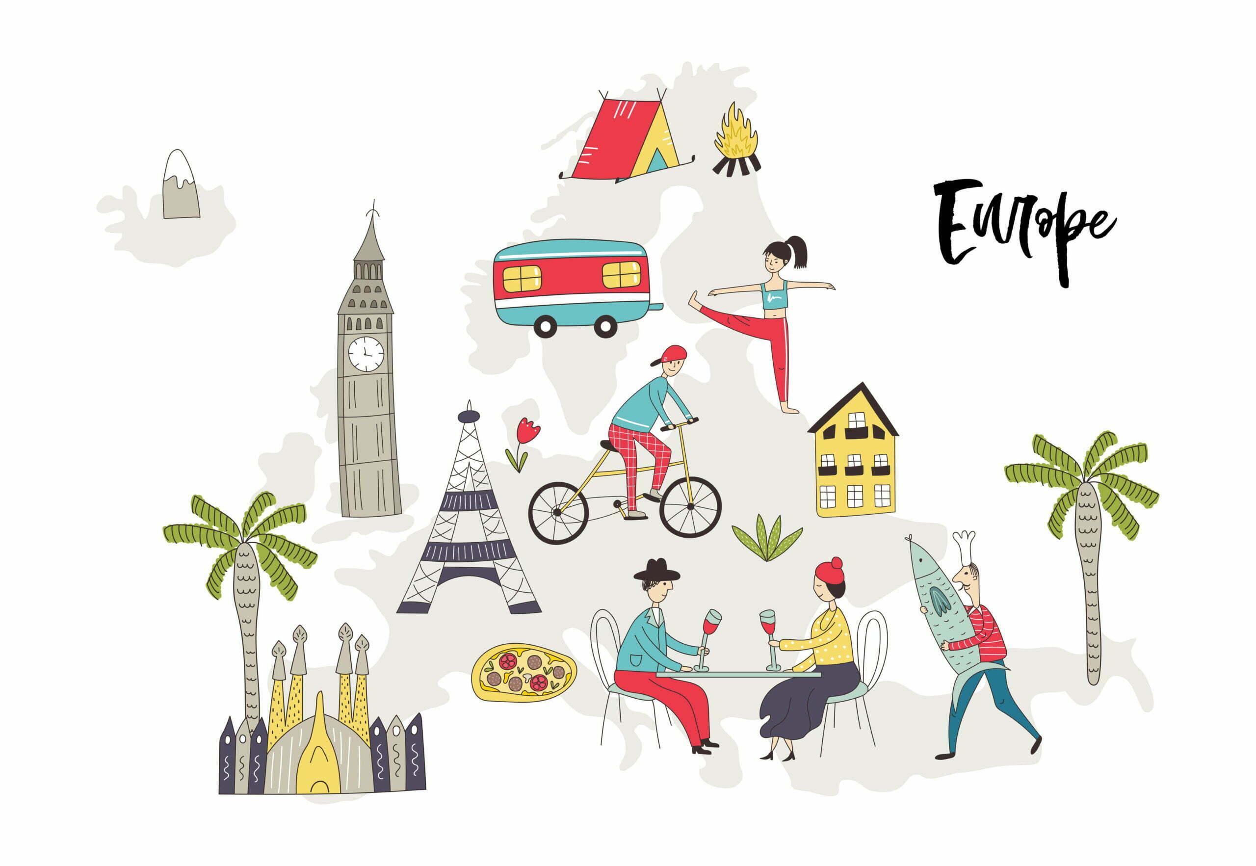 Europa con i bambini