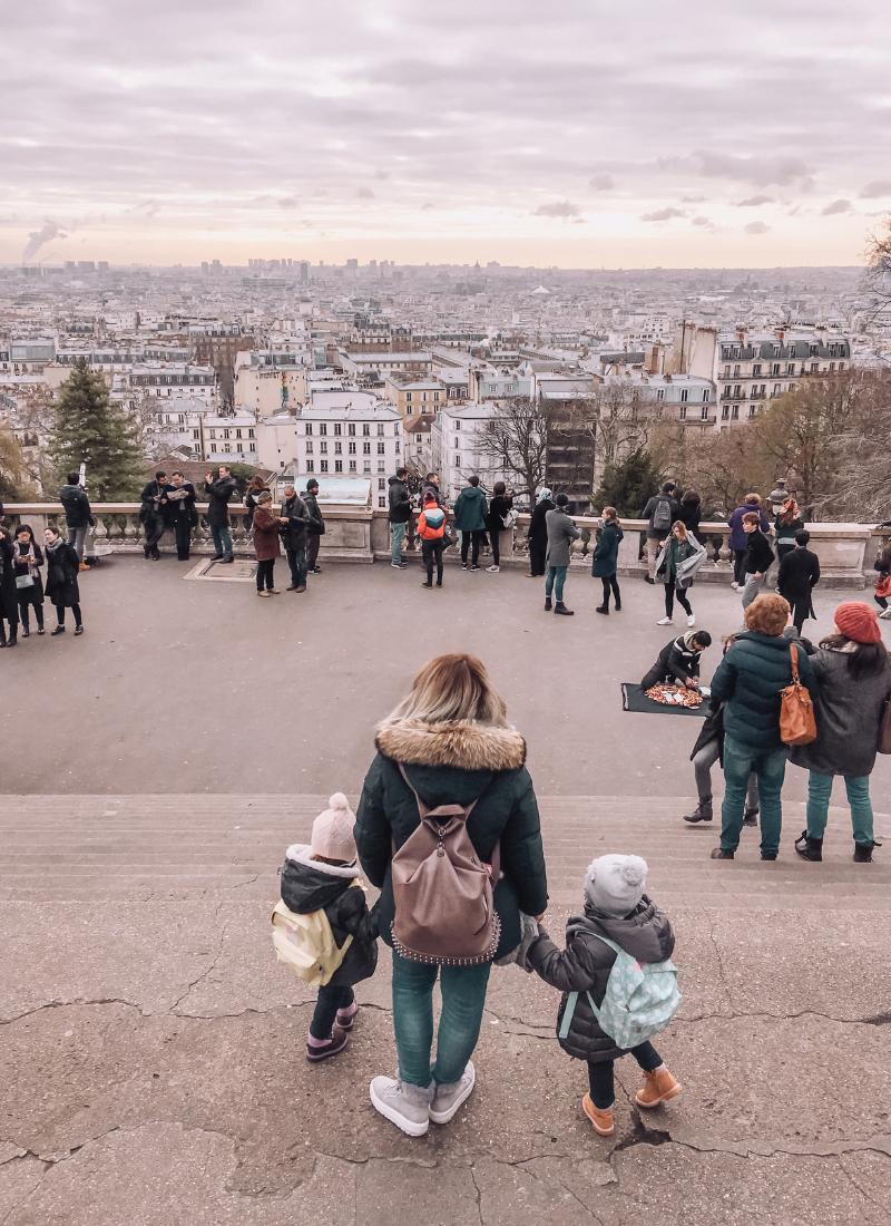 Visitare Parigi con i bambini