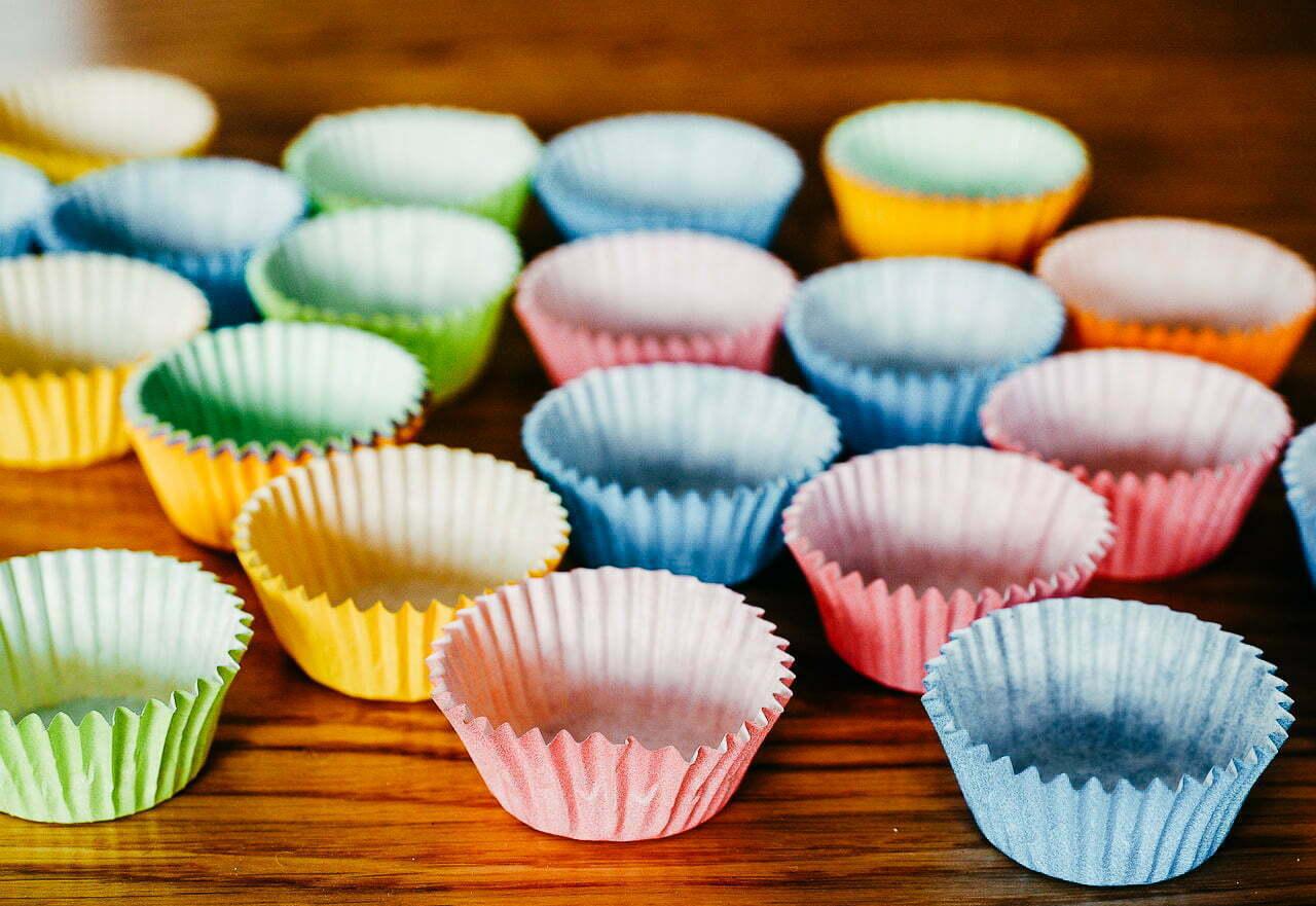 Muffin Arcobaleno - Dammi la mano blog