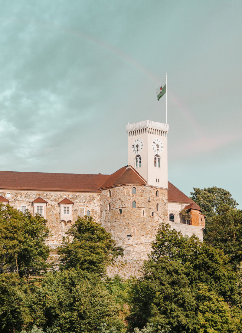 Castello di Lubiana con i bambini