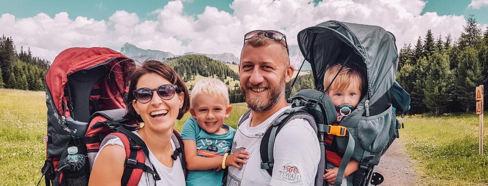 viaggiare con bambini