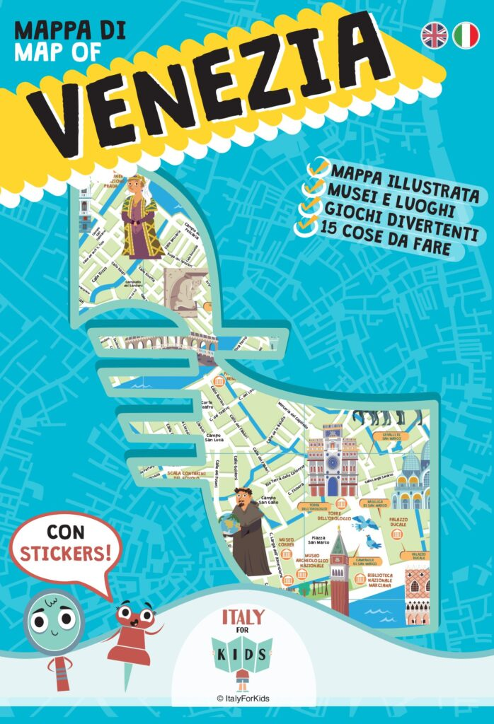Mappa Venezia per bambini