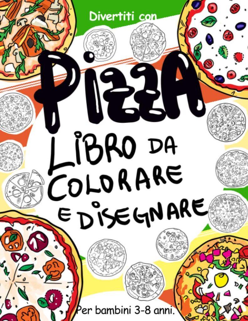 Pizza_libro da colorare