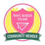 travel blogger italiane badge