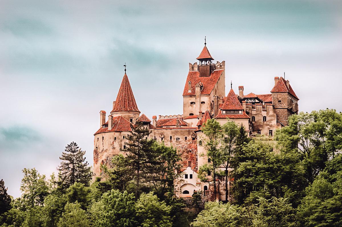 castello di Dracula transilvana